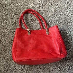 Red Cole Haan Purse